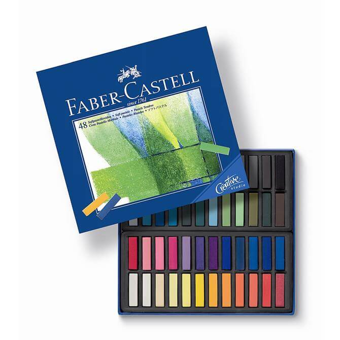 Faber Castell Box of 48 Soft Pastels