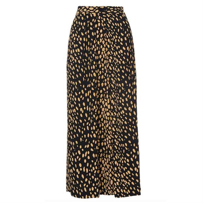 Whistles Animal Print Wrap Trouser