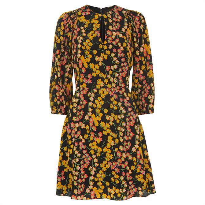 Whistles Daisy Print Ester Dress