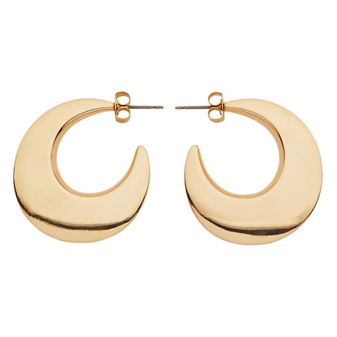 Whistles Crescent Hoop Earrings