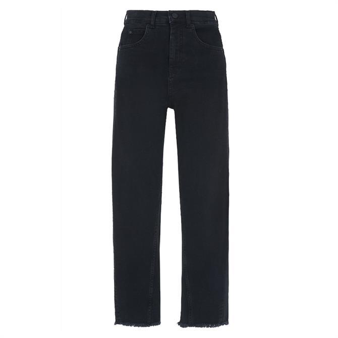 Whistles High Waist Barrel Leg Jeans