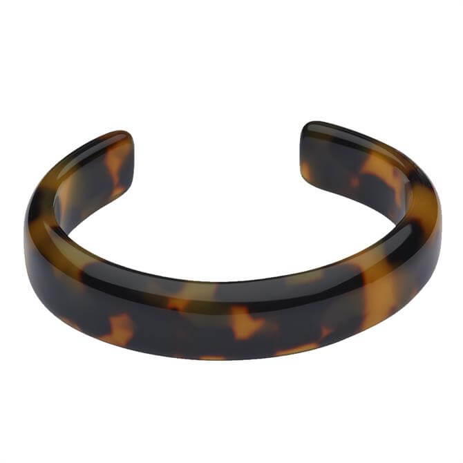 Whistles Tort Resin Bangle