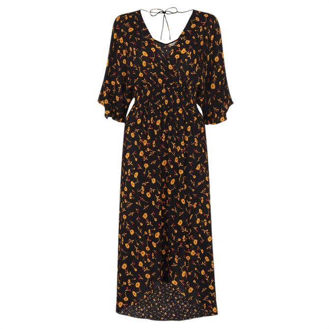 Whistles Aster Floral Wrap Dress