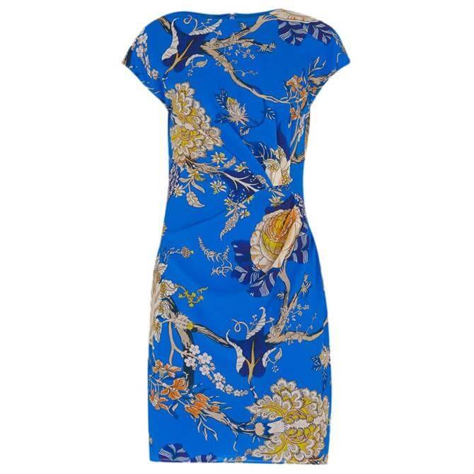 Whistles Exotic Floral Silk Bodycon Dress