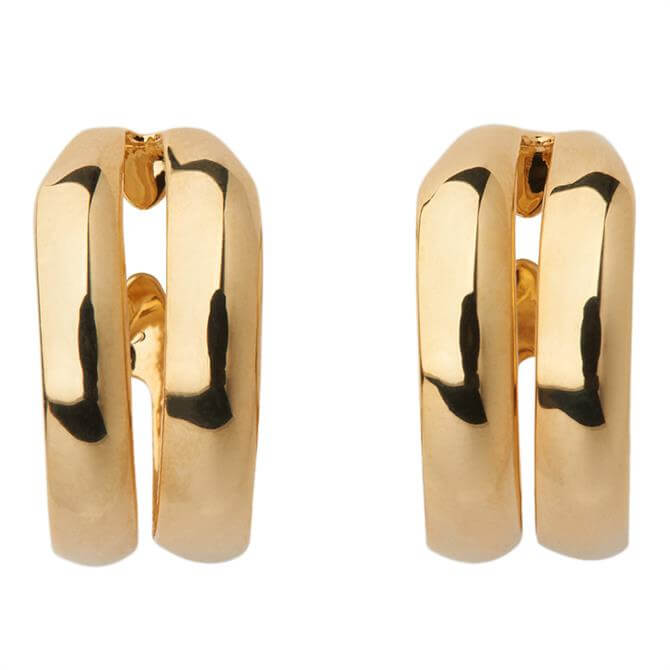 Whistles Double Hoop Earrings