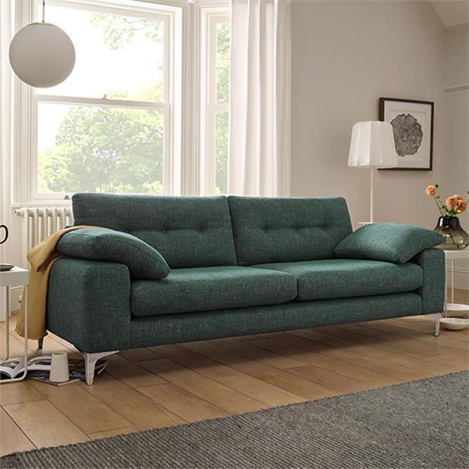 Carmen Large Sofa In B Range Fabric Piero Spring
