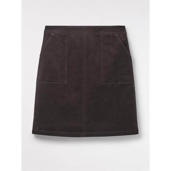 White Stuff Clocktower Cord A-Line Skirt