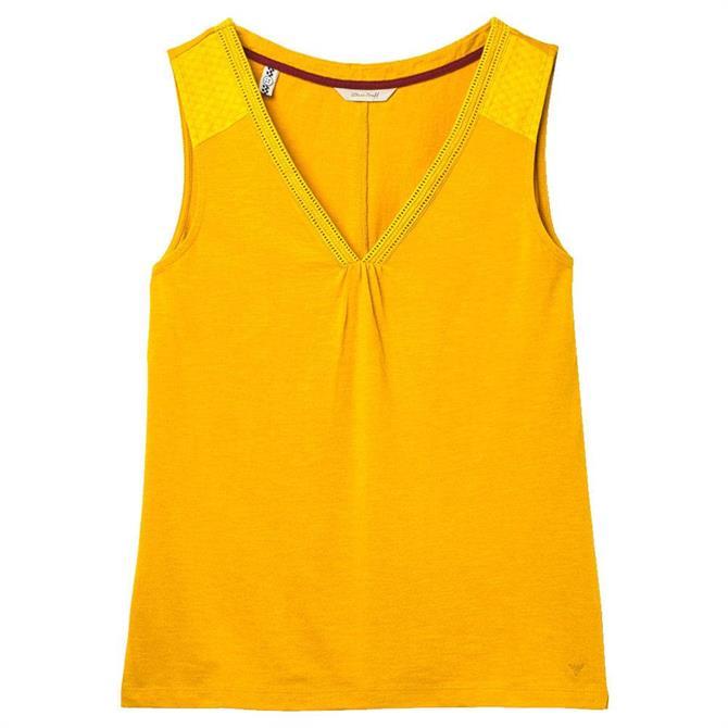 White Stuff Holland Fairtrade Jersey Vest