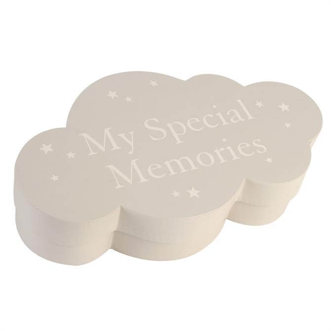 Bambino Cloud Shape Keepsake Box