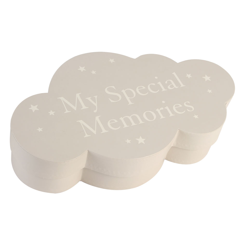 An image of Bambino Cloud Shape Keepsake Box
