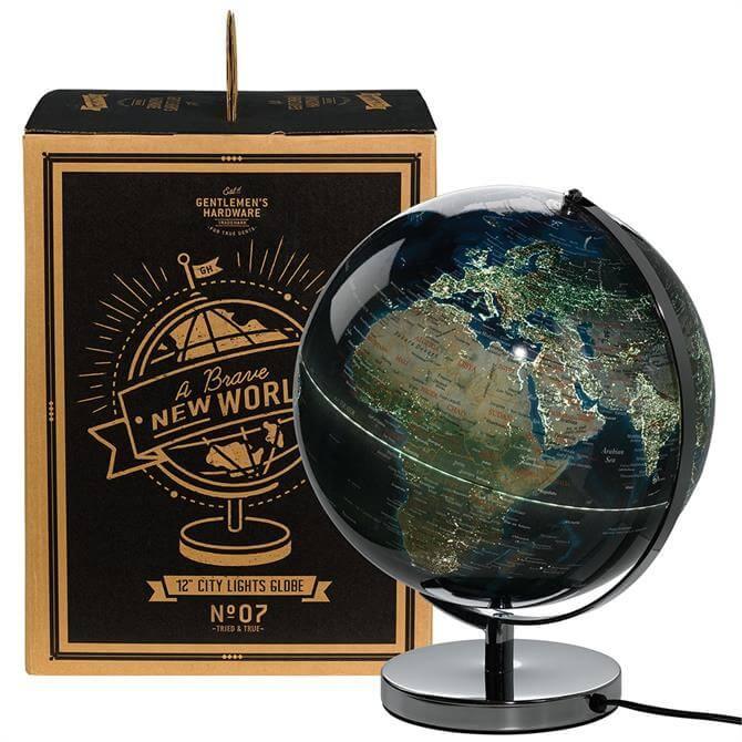 Wild & Wolf City Lights Globe Lamp