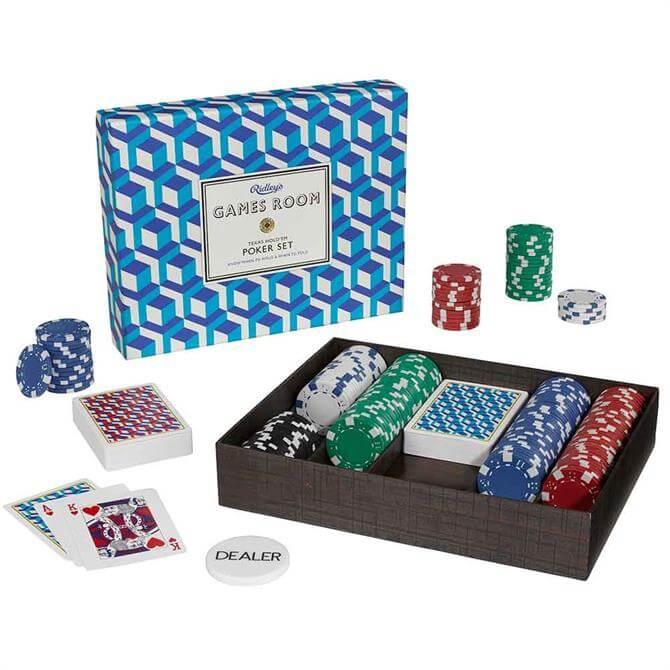 Wild & Wolf Games Room Poker Set