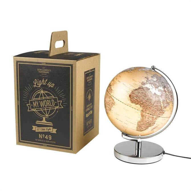 Wild & Wolf Illuminated Globe Light