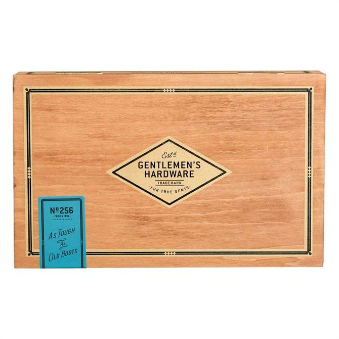 Gentleman?s Hardware Shoe Shine Cigar Box
