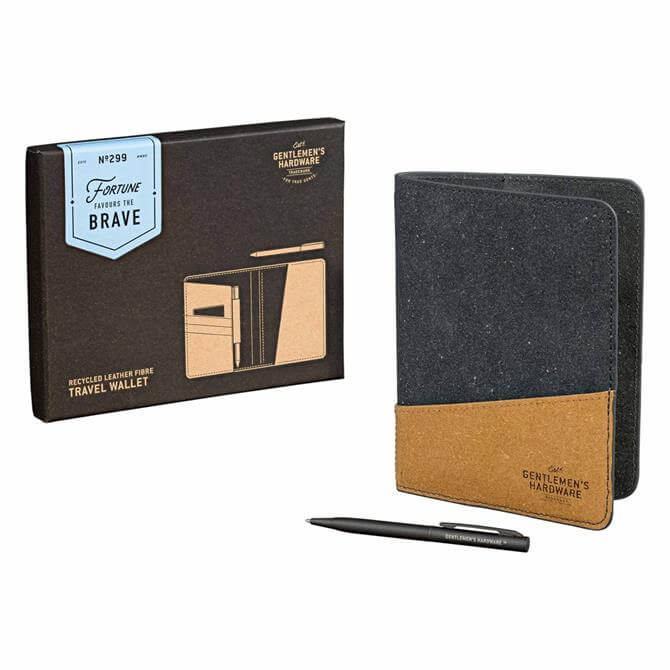 Gentleman's Hardware Recycled Leather Travel Wallet