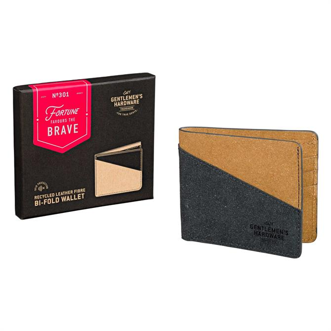 Gentleman's Hardware Bi-Fold Recycled Leather Wallet