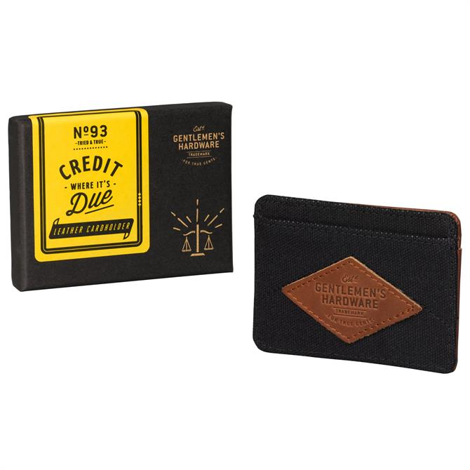 Wild & Wolf Gentlemens Hardware Card Holder