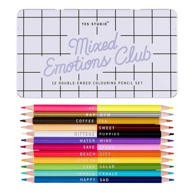 Yes Studio Colouring Pencils Mixed Emotions
