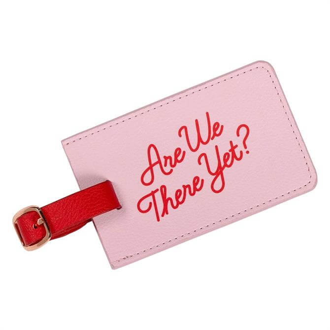 Yes Studio Luggage Tag Are We There Yet?