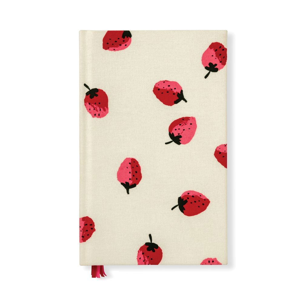 An image of Kate Spade Word To The Wise Journal - STRAWBERRIES