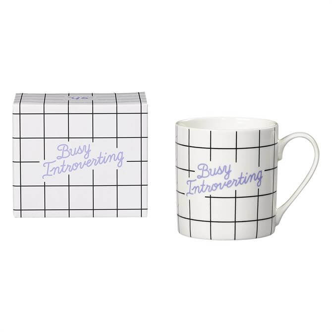 Wild & Wolf Busy Introverting Mug