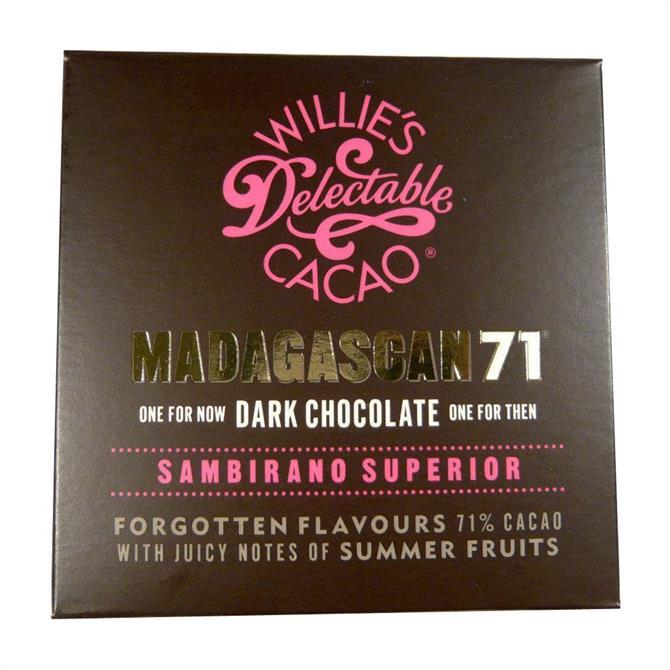 Willie's Cacao Sambirano Gold 71: Madagascan Dark Chocolate