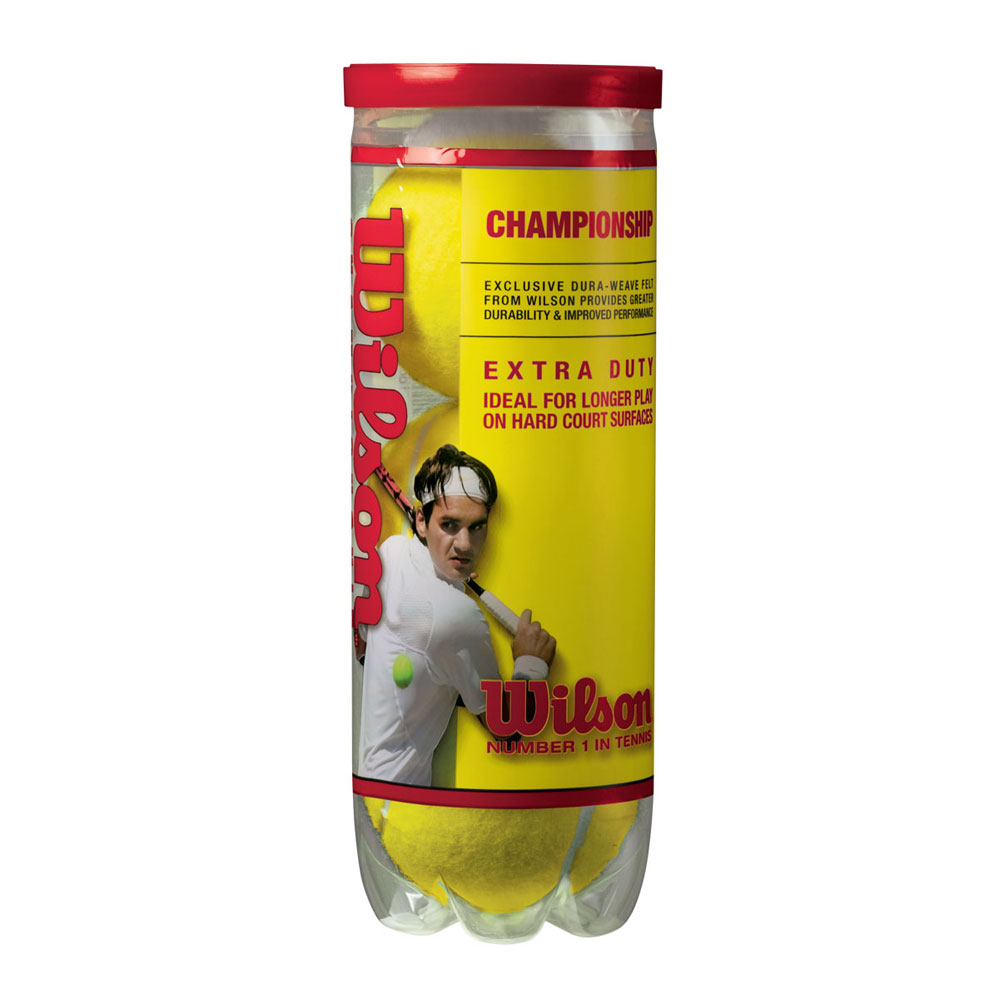 Wilson Championship Tennis Balls, Pack Of 4