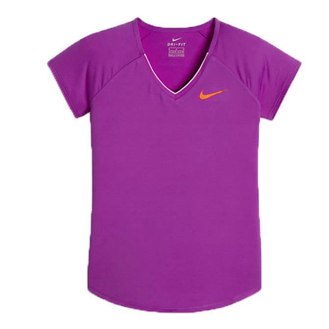 Nike Junior Tennis Top- Purple