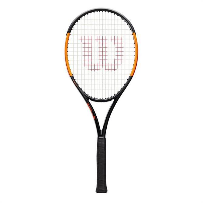 Wilson Burn 100S Strung Tennis Racquet