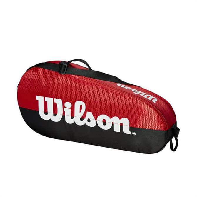 Wilson Team 1 Compartment Tennis Bag - Red/Black