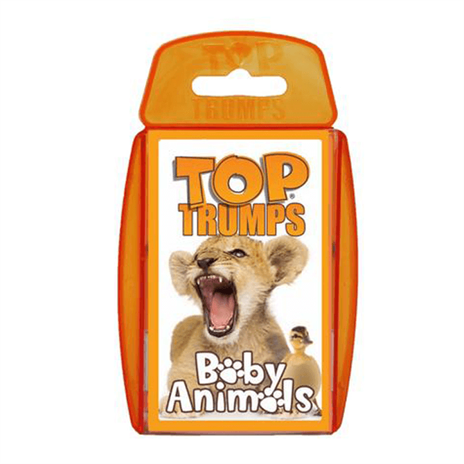 Winning Moves Top Trumps Baby Animals