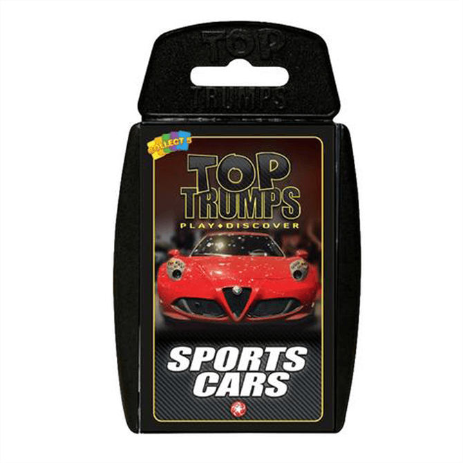 Winning Moves Top Trumps Sports Cars