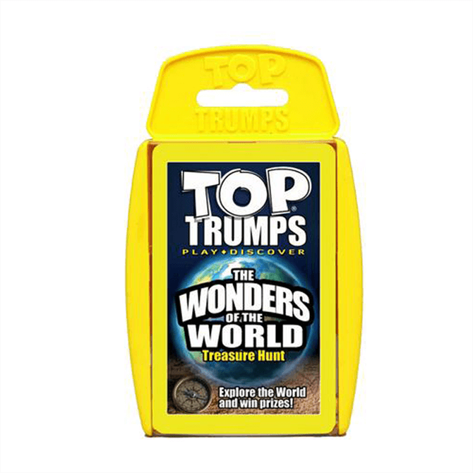 Winning Moves Top Trumps Wonders Of The World