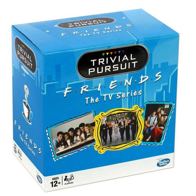 Winning Moves Friends Trivial Pursuit Game