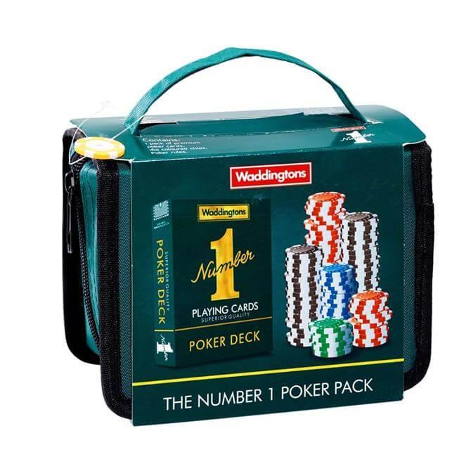 Waddingtons Number 1 Travel Poker Set