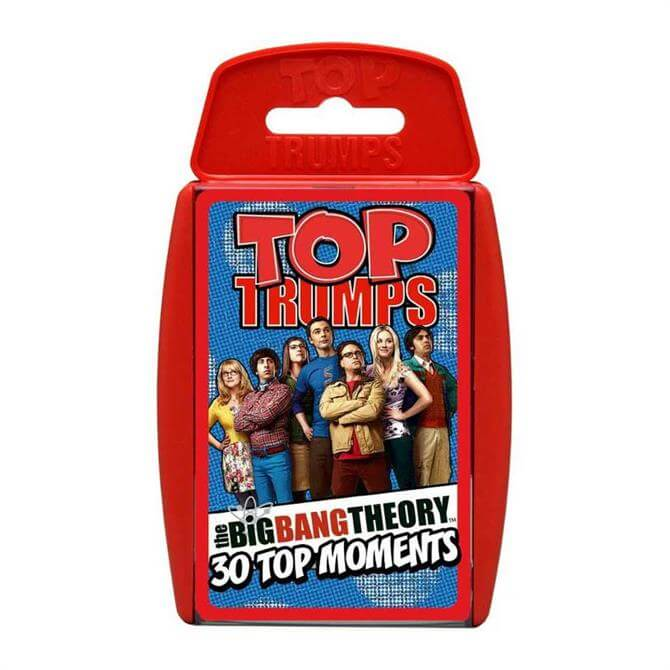 Winning Moves Top Trumps Big Bang Theory