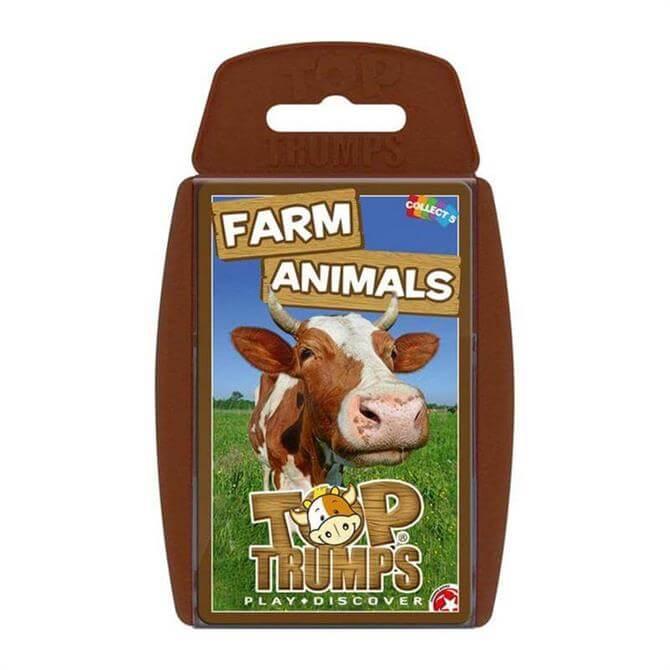 Winning Moves Top Trumps Farm Animals