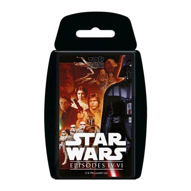 Winning Moves Top Trumps Star Wars Episodes 4-6