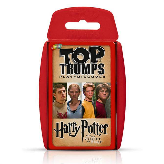 Winning Moves Top Trumps Harry Potter and the Goblet of Fire