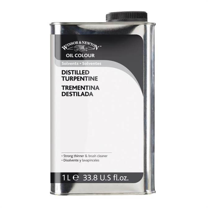 Winsor and Newton Distilled Turpentine 1 litre