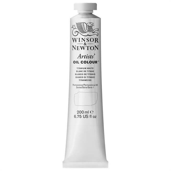 Winsor and Newton Artist Oil Colour - Titanium White 200ml