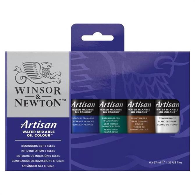 Winsor and Newton Beginners Water Mixable Oil Set
