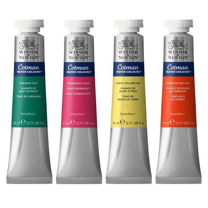 Winsor and Newton Cotman Water Colour Tubes 21ml