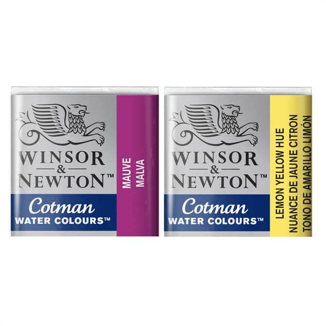 Winsor and Newton Cotman Half Pan Water Colours