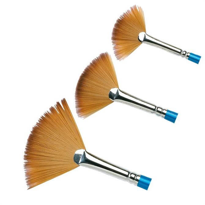 Winsor and Newton Cotman Short Handle Fan Brush Series 888