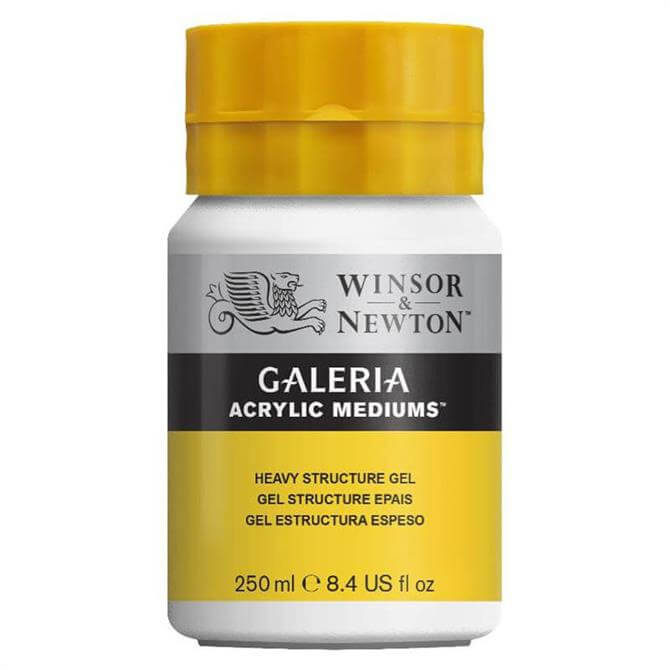 Winsor and Newton Galeria Heavy Structure Gel 250ml