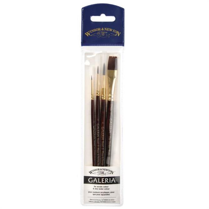 Winsor and Newton Galeria Acrylic Brush Wallet