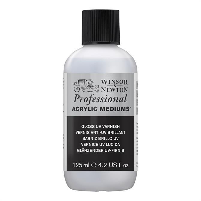 Winsor and Newton Gloss UV Varnish 125ml