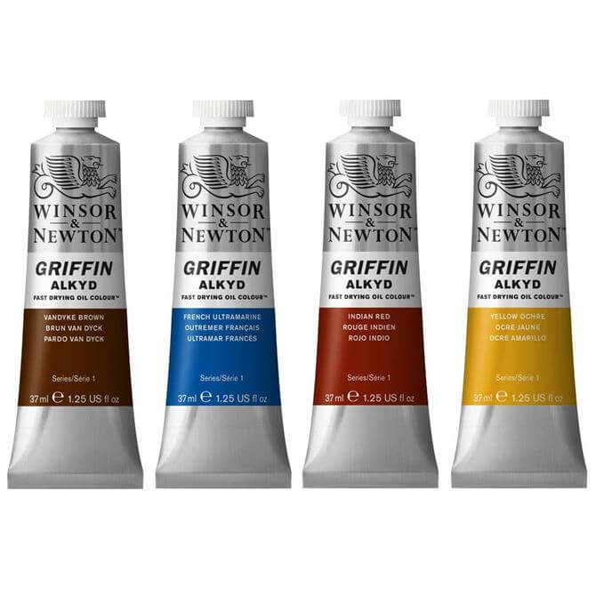Winsor and Newton Griffin Alkyd Fast Drying Oil Colours 37ml