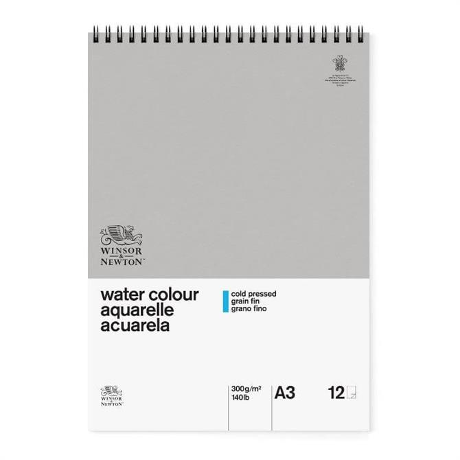 Winsor and Newton Classic A3 Spiral Water Colour Pad
